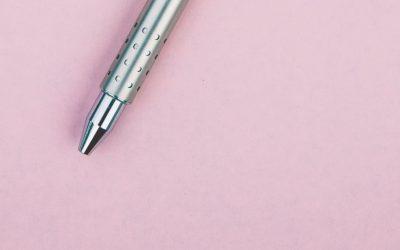 Hoe kies je een mooie pen?